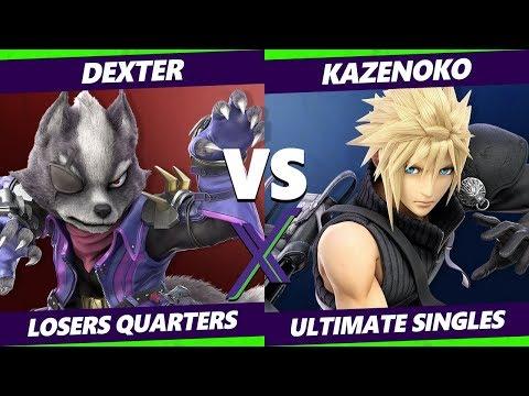 Smash Ultimate Tournament - Dexter Wolf  Vs Kazenoko Cloud - SX 286 SSBU Losers Quarters