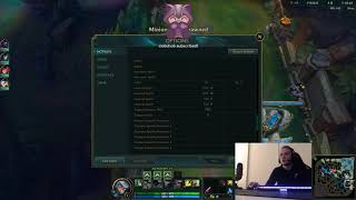 Rekkles Video/Interface/keybinds settings League of Legends February 2019