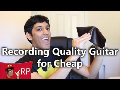 Recording Quality Guitar for Cheap