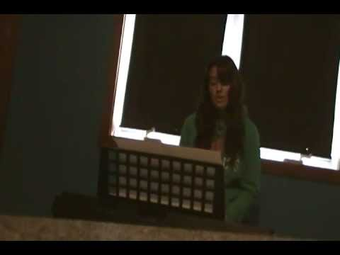 Stacie Singing- Nobody's Home by Avril Lavigne (Cover)