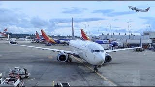 DELTA AIRLINES Boeing 737-800 / Takeoff Seattle / Land in Anchorage