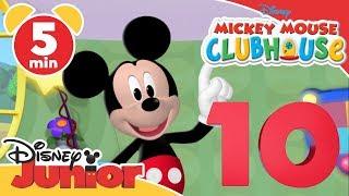 La Casa di Topolino | Conta fino a 10 con Topolino | Impara con Disney Junior