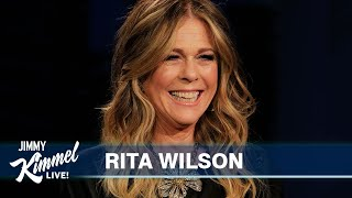 Rita wilson on covid antibodies, bob dylan & 70's deodorant commercial