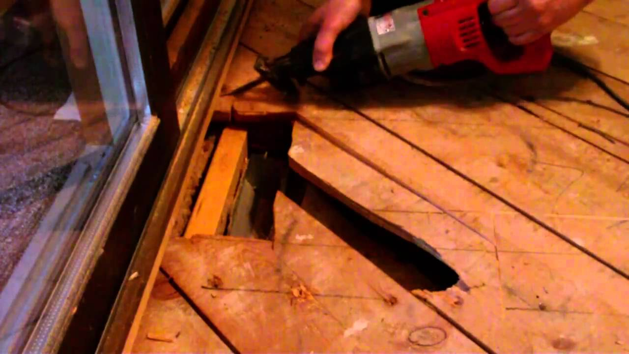 Repair spongy sub floor before you install wood floor youtube dailygadgetfo Choice Image
