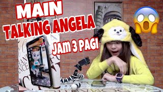 MAIN TALKING ANGELA Jam 3 Pagi ❤️ HANTU yang datang 😱IMOO WATCH PHONE💕Nicole Annabelle Anak Indigo