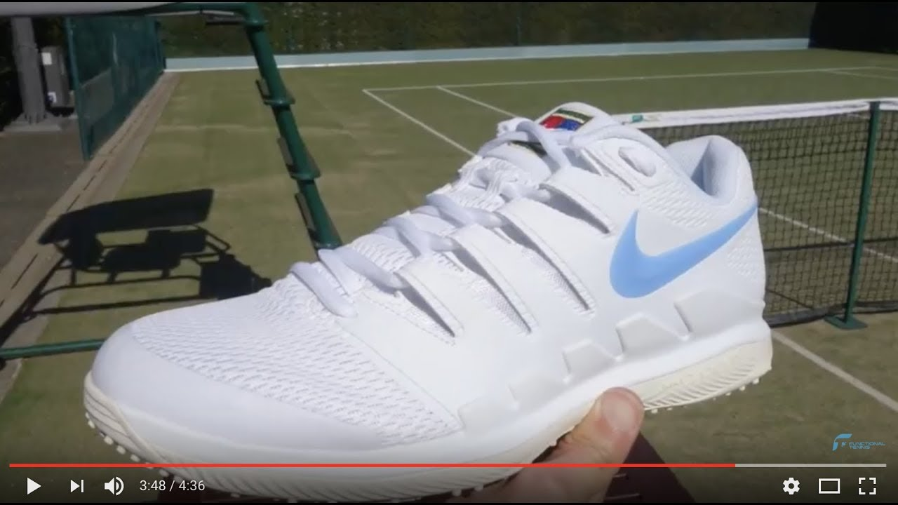 895eb3e16ebed Nike Vapor X with Grass Court sole review - YouTube