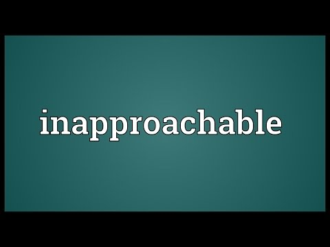 Header of inapproachable