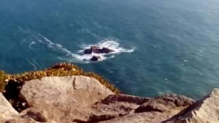 Мыс Рока и атлантический океан.