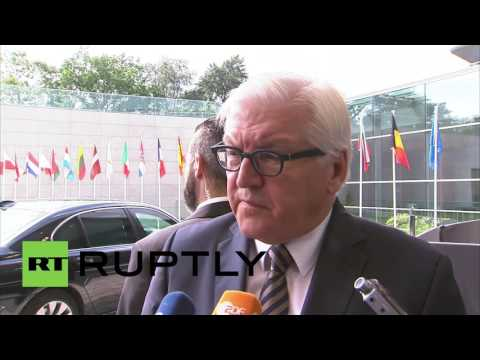 Luxembourg: 'A bitter day for Europe' – Germany's Steinmeier reacts to Brexit
