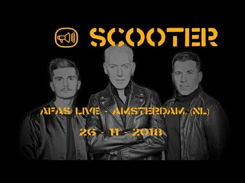 SCOOTER - LIVE @ AFAS-Live Amsterdam (NL) 26-11-2018
