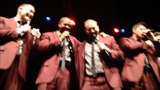 Straight No Chaser - Manchester 3-2-15 - Tyler and Rome lose it during the Broadway Medley