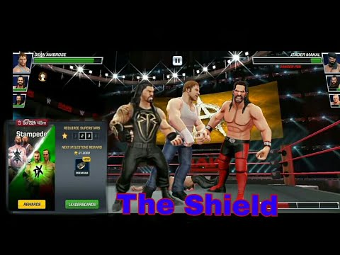 Wwe mayhem stampede 3 vs 3 the shield game play youtube - Download pictures of the shield wwe ...