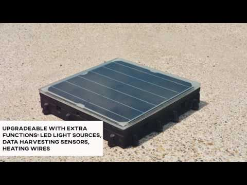 Platio Solar Paving System