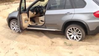 BMW X5 e70 off road + Mitsubishi L200 part 1