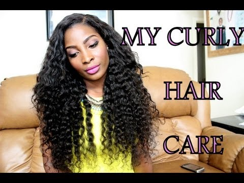 how can i style my curly hair how i care for my curly hair weave daily routine 5728