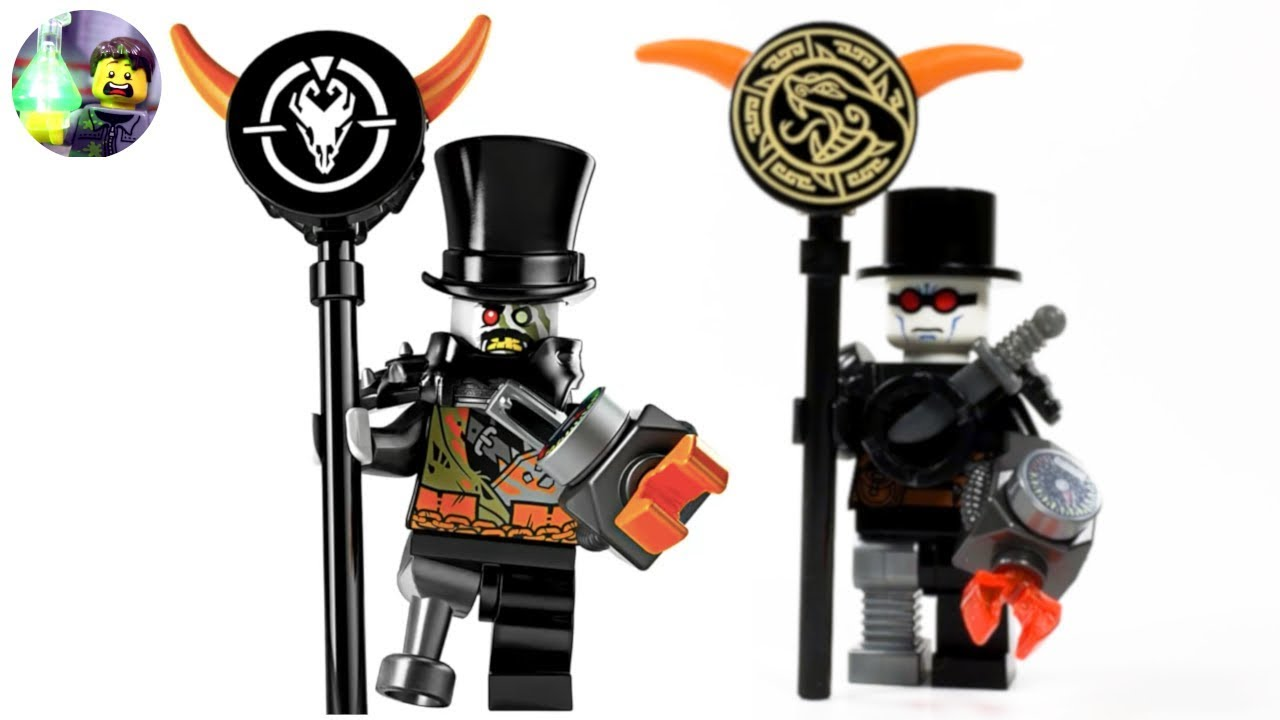 Lego Ninjago Custom Iron Baron Minifigure From Hunted Youtube