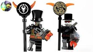 Custom LEGO Iron Baron Minifigure from Ninjago: Hunted