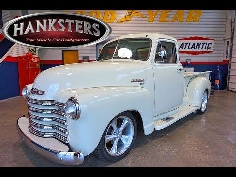 1952 Chevy 3100 5-Window Truck for Sale