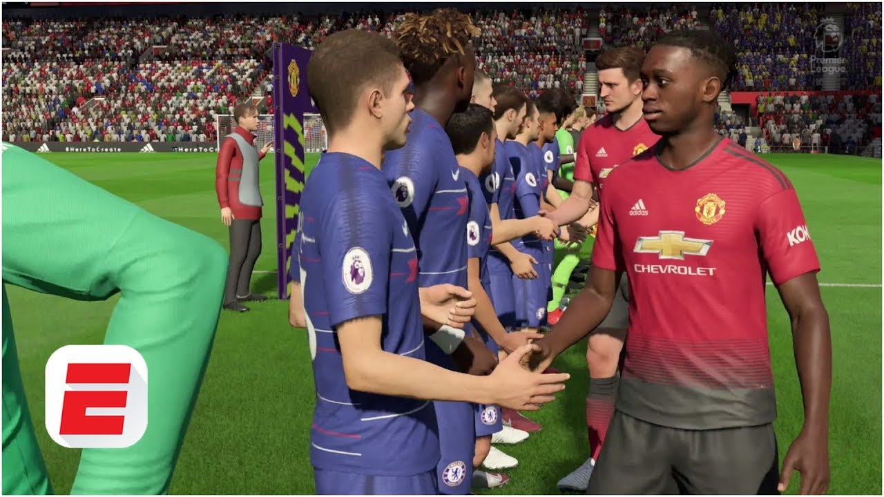 FIFA 19 Predictions: Manchester United vs. Chelsea | Premier League