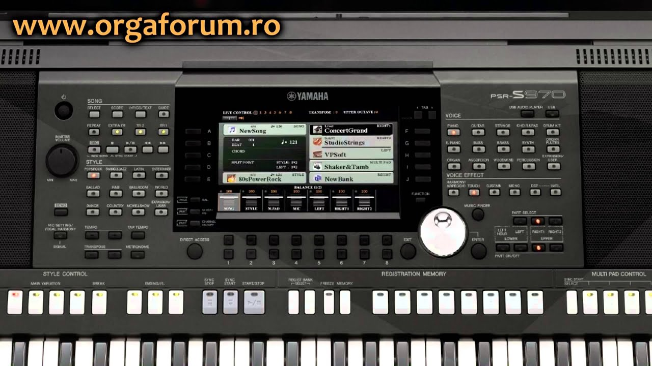 demo yamaha psr s970 s770 s670 unofficial youtube. Black Bedroom Furniture Sets. Home Design Ideas