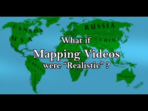 "What if Mapping Videos were ""Realistic""?"
