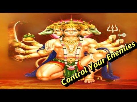 Mantra To Control Enemies - Hanuman Mantra शत्रु बाधा