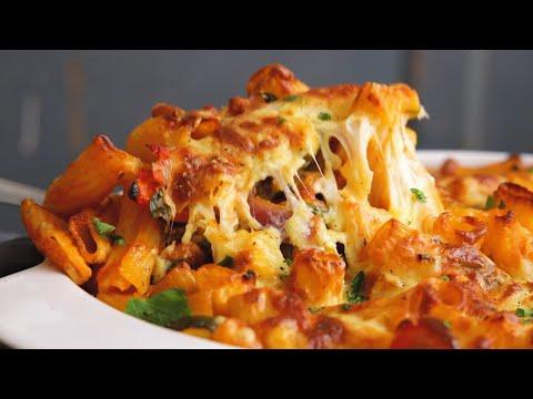 Vegetable Pasta Bake tasty, filling comfort food