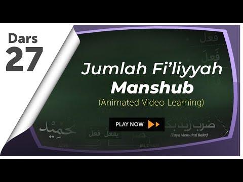 #27 Huruf-huruf Yang Menashabkan Fi'il | Nahwu Animated Learning