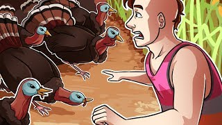 Gmod Deathrun Fun - Thanksgiving Edition! (Garry's Mod Funny Moments and Fails)
