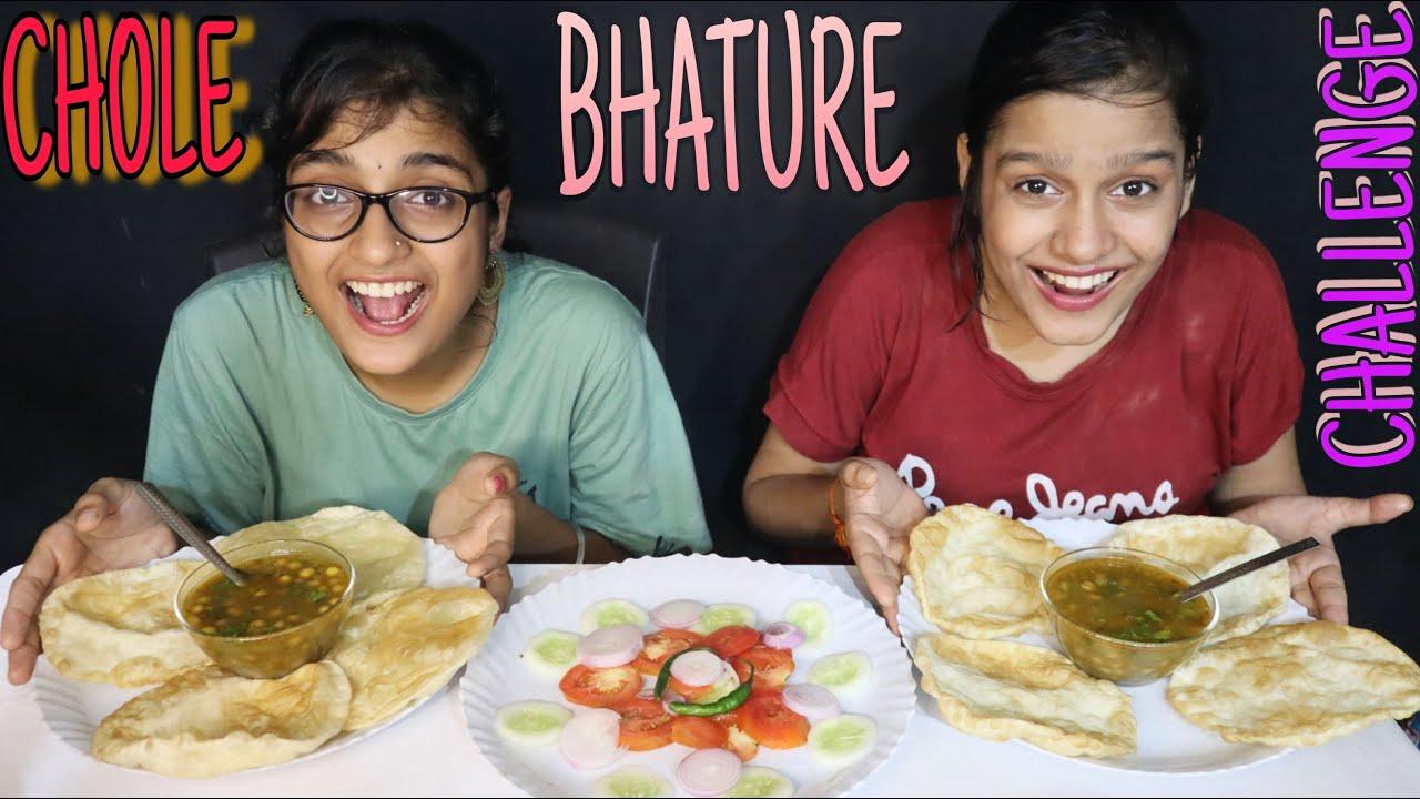 CHOLE BHATURE CHALLENGE | CHOLE BHATURE EATING CHALLENGE | FOOD CHALLENGE #cholebhature