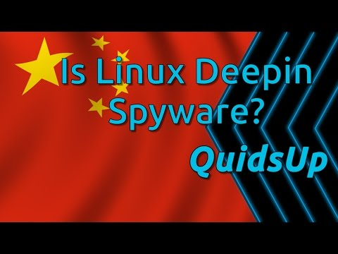 Is Linux Deepin Spyware?