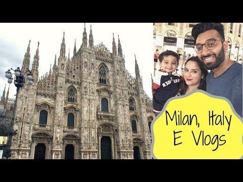 MILAN FAMILY TRIP | Italy Travel Vlog Pt.2 | E Vlogs