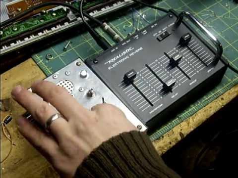 circuit bent realistic reverb ver 2 video 2 by statikstramentz rh youtube com