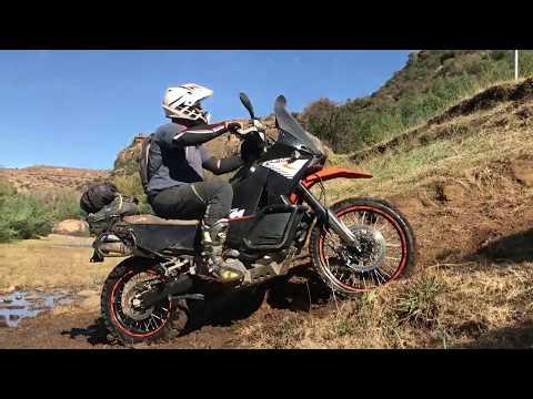 Lesotho technical adventure bike trip June 2018