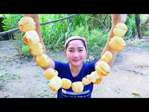 Yummy Palm Fruit Sweet Cooking – Palm Fruit Sweet – Cooking With Sros