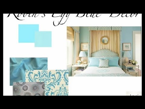 How To Decorate A Bedroom With Robin S Egg Blue Bedroom Accents Redesign Youtube