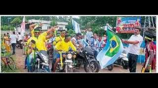 Brazail Argentina Fans Kerala South India