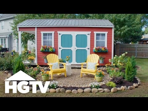 Before-and-After Shed Makeover HGTV