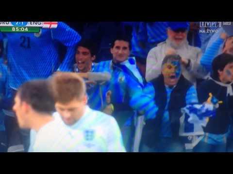Uruguay 2- 0 England Luis Suárez ! 2014 FIFA World Cup Brazil 2014-06-19