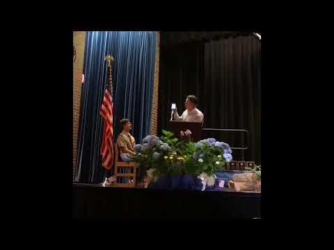 John Finnegan Eagle Speech
