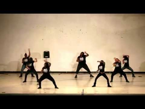 Annapolis High School Royal Panther Step Team