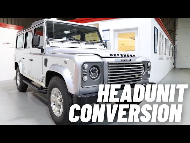 Land Rover Defender | Alpine Double Din | Apple Carplay & Android Auto
