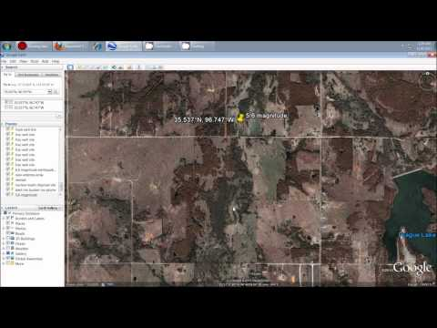 11/6/2011 -- Oklahoma MAN MADE earthquakes -- Fracking -- 5.6 magnitude within occuring swarm