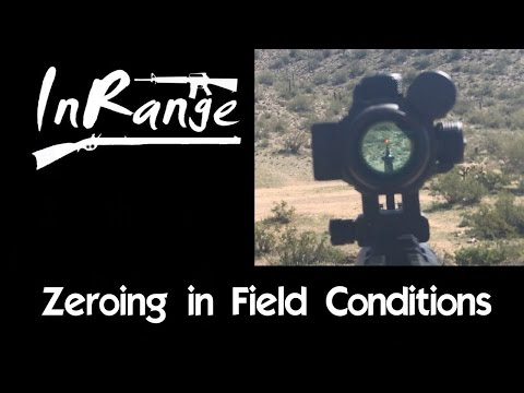 Zeroing in field conditions & Iron sight Cowitness