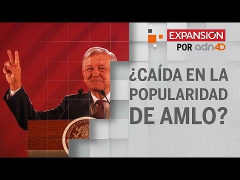 Encuestas reflejan caída en la popularidad de Andrés Manuel López Obrador