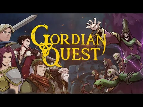 Gordian Quest - End Of The World Party Based Deck Building RPG