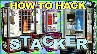 How to win and hack Stacker arcade game minor prize tutorial
