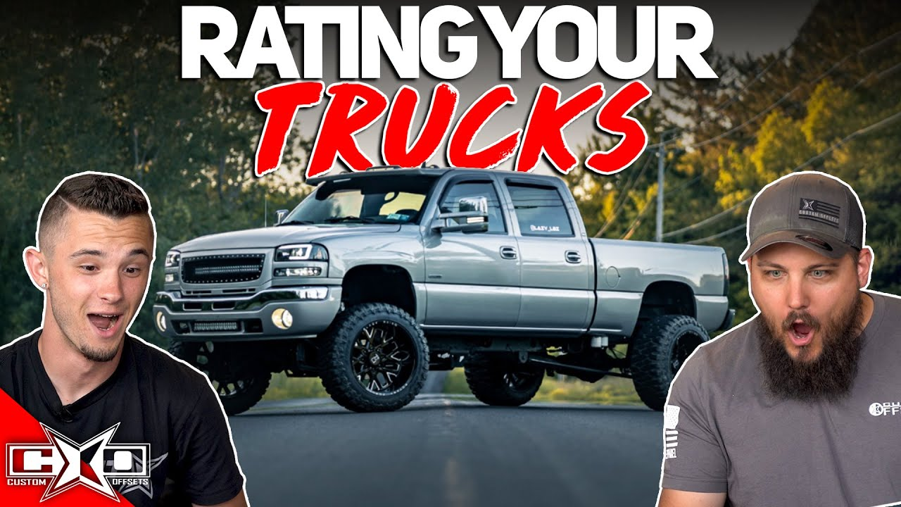 Rating Our Ambassadors Trucks || From The Gallery