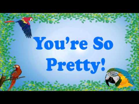 Teach your Parrot to say You're So Pretty!