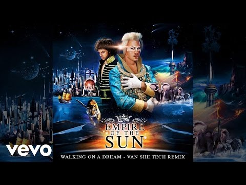 Клип Empire Of The Sun - Walking On A Dream (Van She Tech Remix)